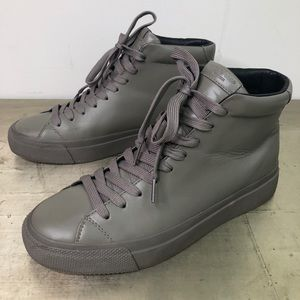 Rag & Bone RB1 Smooth Leather High Top Sneaker